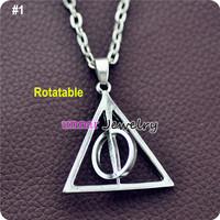 Pirate of the caribbean skulls Skeleton  Harry Potter necklaces pendants Necklaces & Pendants hip hop men nke