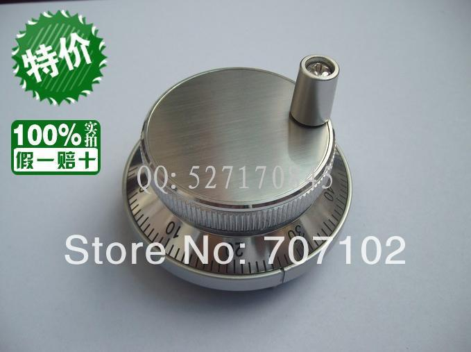HM60 CNC Eletronic Hand wheel Pulse Encoder CNC Mill Router Manual Control 5V 100PPR(China (Mainland))