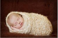 Handmade Animals Cocoon Baby Boy Girl Hats Caps Crochet Knitting Newborn Unisex Photography Photo Props Outfits Costume Set