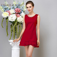 2014 spring fashion women's one-piece dress tank dress bow knitted one-piece dress female slim
