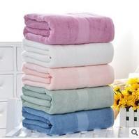 550g Big Bumboo Fiber Thickened Bath Towel Infant Bath Towel Soft Water-absorbing Towel  70*140cm
