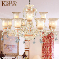 Fashion pendant light brief crystal lamps French lighting 310-12f