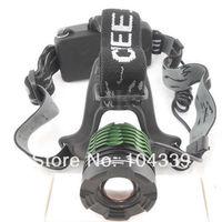 1800LM CREE XM-L T6 LED Adjustable Zoom Headlamp Headlight torch  Bicycle bike Lamp Flashlight Light Headlamp