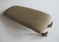Beige Yellow Leather Armrest Console Lid Cover FOR Audi A4 B6 S4 A6 C5 2000-2005