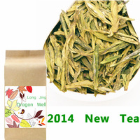 2014 new tea 250g Fresh West Lake Longjing Dragon Well Green Tea green tea Chinese tea xi hu longjing