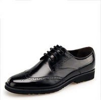 2014 new arroved  fashion high quality mens genuine leather business cowhide shoes