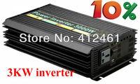 6000W Watts Peak Real 3000W 3000 Watts Power Inverter 12V DC to 220V AC Modified Sine Wave