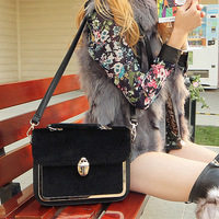 Hotsale Cat bag fashion vintage 2014 women's handbag imitation mink messenger bag shoulder bag cross-body m18-036
