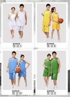 Basketball clothes set Women basketball clothes Men jersey lovers design basketball clothes