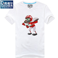 Games t-shirt male short-sleeve o-neck T-shirt casual basic shirt gulps half shirt