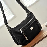 2014 waterproof nylon one shoulder cross-body women's casual handbag all-match bag 143500