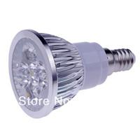 5X High Power CREE E14 LED Spotlight 4x3W 12W 85-265V LED Light Lamp Bulb LED Downlight Led Bulb Warm/Cool White CE/RoHS