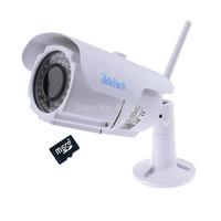 HD 1080P 2 MegaPixel SONY MX 122 CMOS P2P IR  Varifocal 32G SD Card Slot  Waterproof Wifi Wireless IP Camera