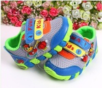 free ship fashion cartoon kids baby boy girl children shoes 2 colors size 22-26 kids baby child cute shoes