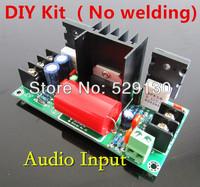 DIY ( No welding) mono amplifier of  HiFi no Pre Adjustable class A tda7294 pushthe tube 2SC5200 2SA1943