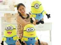 HOT SELL! 25cm 1pc/set Plush toys 3D eye despicable me doll children's Christmas gift funny gifts for children free shipping 1pc