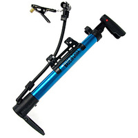 Bicycle pump portable high pressure pump aluminum alloy mountain bike mini portable pump