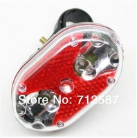 Free shipping Flashing Safety 9 LED Bike Bicycle Rear Tail Light #8626