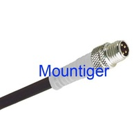PS-MS4WLV021B /M8 male straight 4-wire Connector Mountiger Pico-style cable assembly for proximity switch 1 meter cable Black