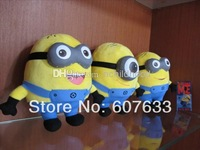 """Wholesale - Despicable ME Movie Plush Toy 7 inch """" 17cm 3 d eyes Minion Jorge Stewart Dave NWT with tags"""