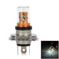 H4 15W 1400lm 4-CREE XP-E White Light Car Tail Lamp (12~24V)