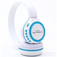 Wireless headset  sports card flash mp3 headphones
