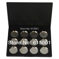 SKYMALLHK High quality 12 PCS 26mm Empty Magnetic Cosmetics Makeup Eyeshadow Eye Shadow Aluminum Palette Pans  Free Shipping