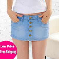 2014 New Free Shipping Fashion Women's Jeans Shorts Skirts Causal Style Denim Mini Hip Shorts 729