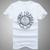 Free shipping good quality brand new men's fashion cotton T-shirt printing T-shirt M-XXL variety of styles