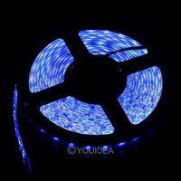 5M 3528 SMD 300 LED Non-waterproof Flexible Strip Light blue 80851