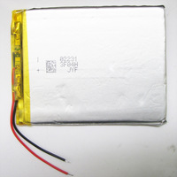 3.7V  2300mAh Polymer Lithium Li-Po Rechargeable Battery For MP5 GPS PSP DVD E-book Tablet PC mobile phone video game 406080