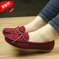 2013 new arivall fashion Casual Leather driving Shoes,Mocassins,Soft and Comfortable loafers for women