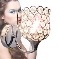 free shipping Brief k9 modern crystal wall lamp art lamp bed-lighting mirror light wall frha b8