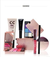 Danni dannie moisturizing whitening blush eye shadow powder cc make-up set 8 piece set freeshipping