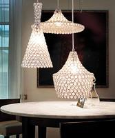 free shipping Lamp modern brief k9 crystal pendant lamp lighting
