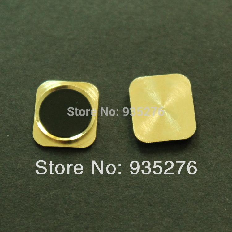 Замена белый для дома пуговица с металл кольцо жк-ремонт-экран части для iphone 5 тот же вид ас iphone 5s