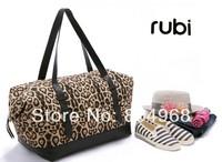 New 2014 Leopard print women's handbag large capacity canvas bag handbag free shipping  in Spring and Autumn
