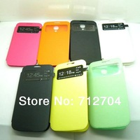 colorful NEW SLIM for SAMSUNG GALAXY S4  FLIP CASE COVER S-VIEW