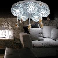 free shipping Lamp modern brief led crystal lamp led ceiling light lamp restaurant living room lights bedroom lamps