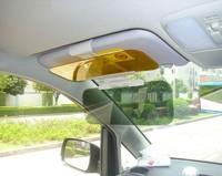 Car Auto Sunshade Anti-Dazzle Multi-Purpose Mirror Day & Night Sun Visor Glass