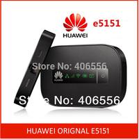 Free shipping Original Unlocked HUAWEI E5151 21.6Mbps 3G WiFi Router MiFi Hotspot LAN/WAN  to WIFI huawei mobile wifi
