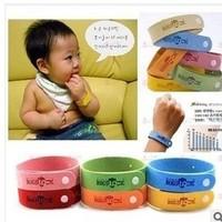 10pcs Natural citronella mosquito repellent bracelet, baby anti-mosquito mosquito repellent ring