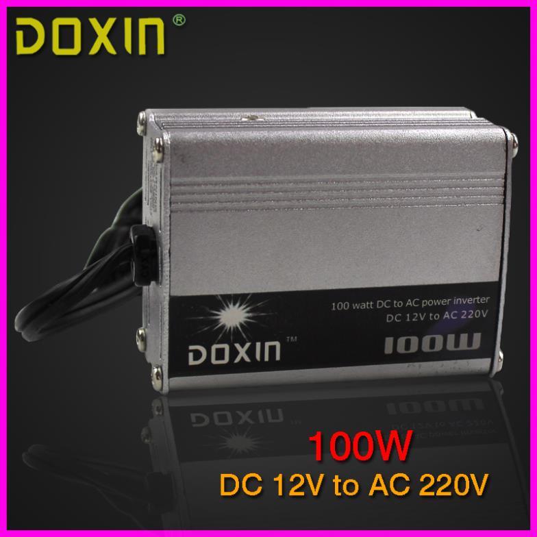 цена  Преобразователь DOXIN 100W DC 12V 220V ST 001 N001  онлайн в 2017 году