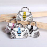 pendrive usb flash drive crystal handbag Bag bag necklace 8gb 16gb32gb pen drives flash usb memory jewelry usb flash memory gift