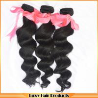 Brazilian 6A  grade hair weave bundles loose  wave ,  3 pcs/ lot Sale 20% OFF mocha hair products , beauty  hair extentions