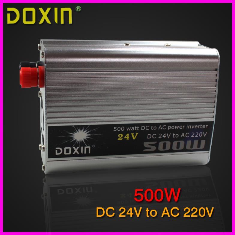 Инвертирующий усилитель мощности DOXIN 24 DC AC 220V 500W st/n010 doxin син 500w автомобиля инвертор 12v 220v с зарядки ибп возможность