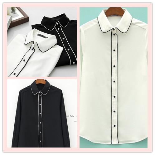 Женские блузки и Рубашки Brand New S M L 2015 oL A164 женские блузки и рубашки brand new s m l xl