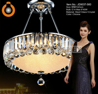 Modern crystal pendant lighting Simply style Palace light  Chrome Luxury Hotel lamp Guaranteed 100%+Free shipping 9037-460