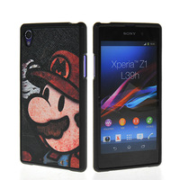 2014 latest high-end animation soft fiber pattern FOR Sony L39H Xperia Z1