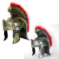 Free Shipping, Halloween Adult Roman Gladiator Helmet Spartan Warrior Helmet Cosplay Plastic Drop Shipping, PW0077